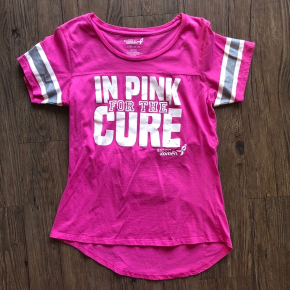 f8f8037d Susan G Komen Tops | In Pink For The Cure Tshirt | Poshmark